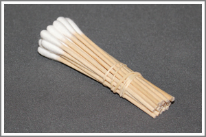 "Sterile Cotton Tipped Applicators 3"" - 25 pk"